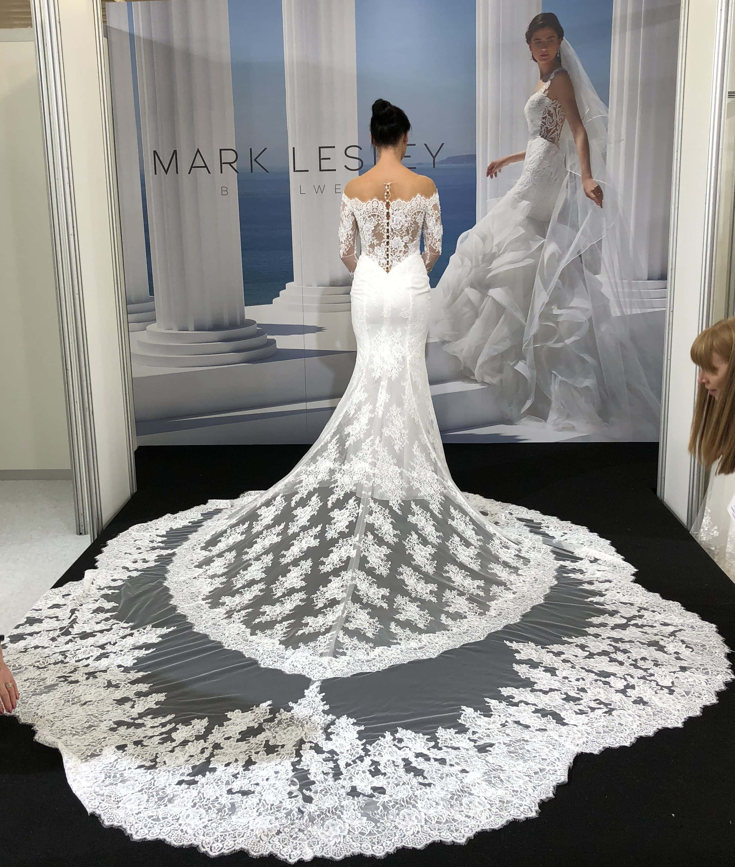 mark lesley wedding dresses
